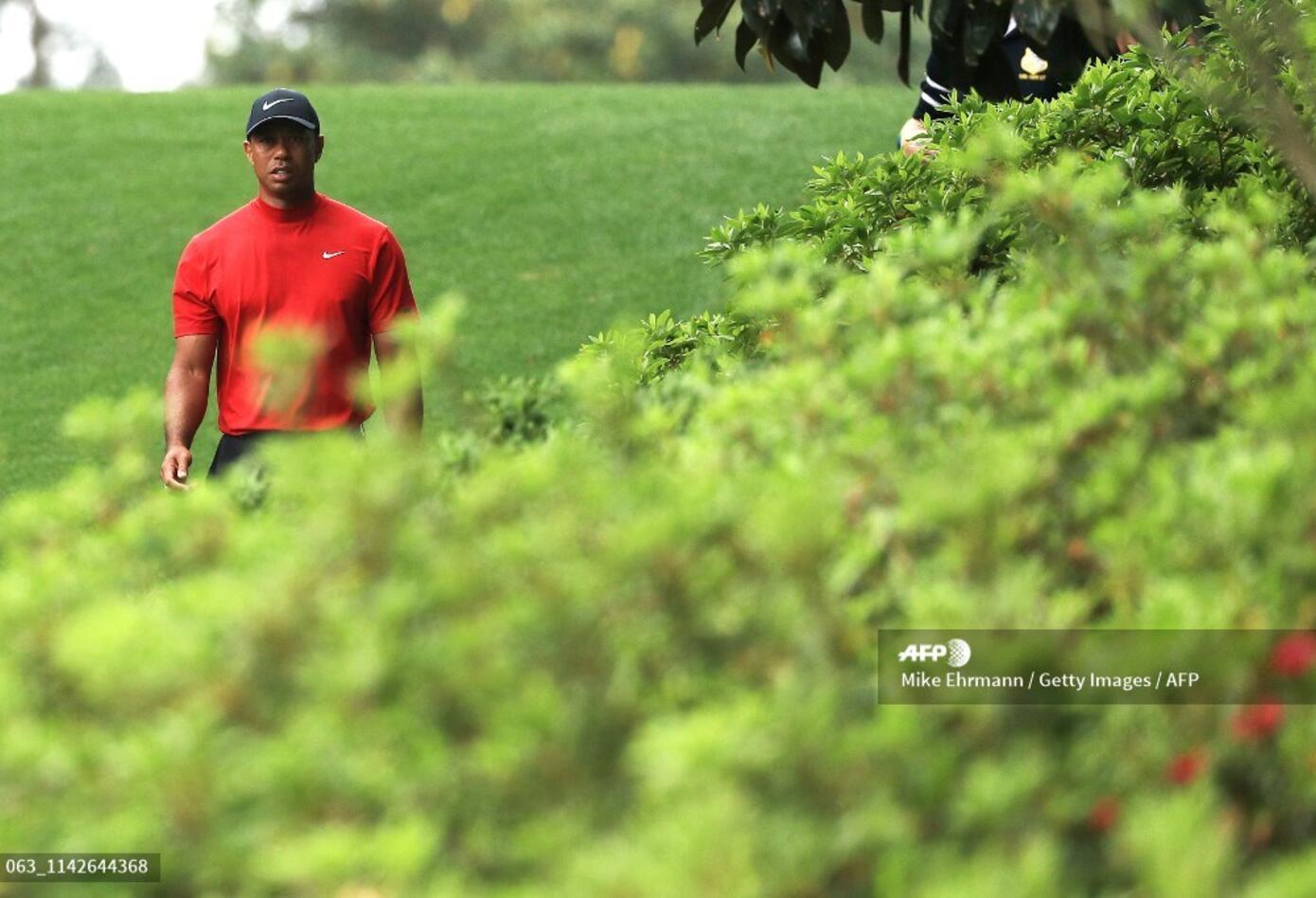 Tiger Woods no ganaba el Masters de augusta desde 2005