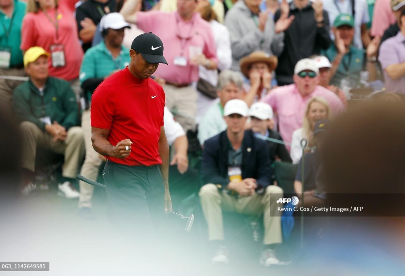Catorce años pasaron para volver a ver a Tiger Woods ganando en Augusta
