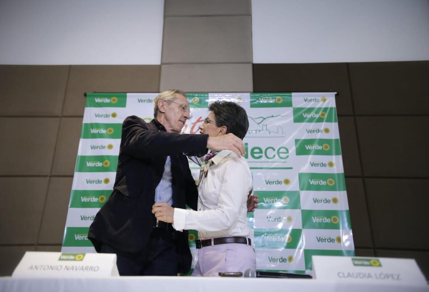 Claudia López, candidata oficial de Alianza Verde para Alcaldía de Bogotá