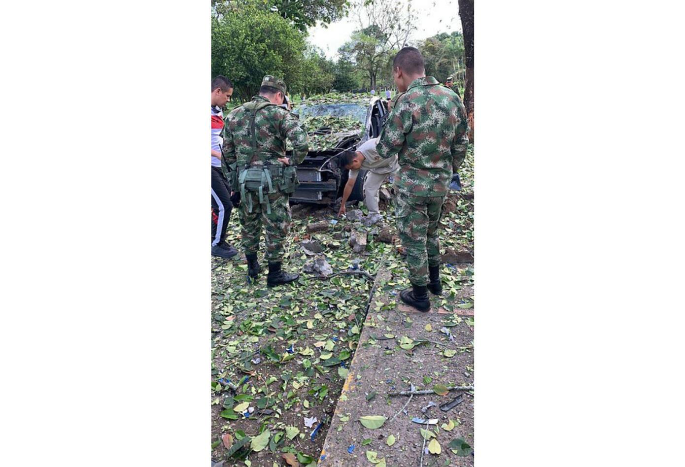 Atentado en cantón militar de Saravena