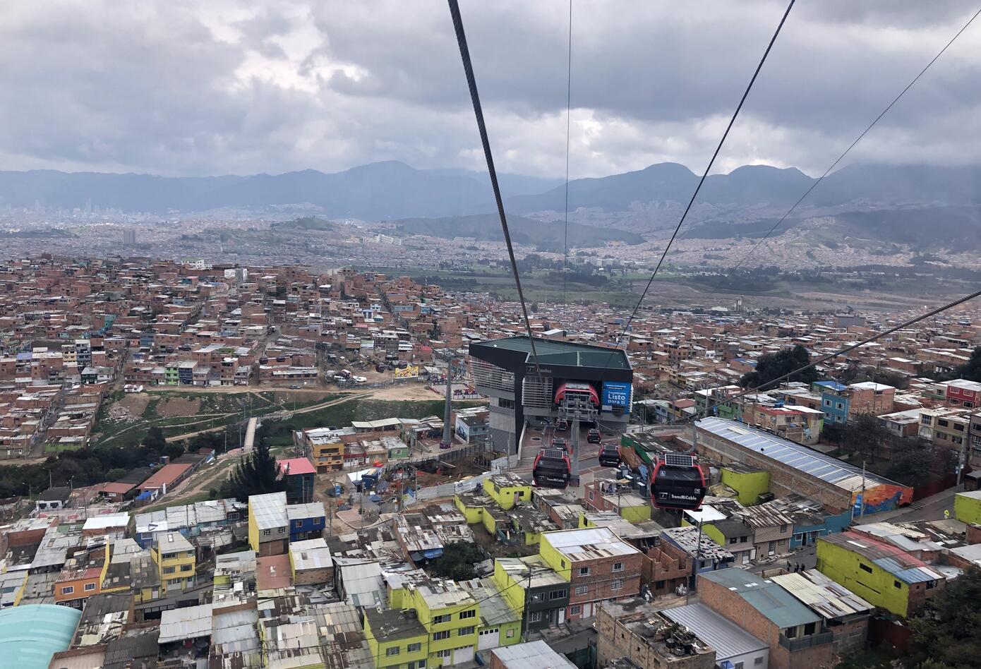 Ciudad Bolívar desde el Transmicable