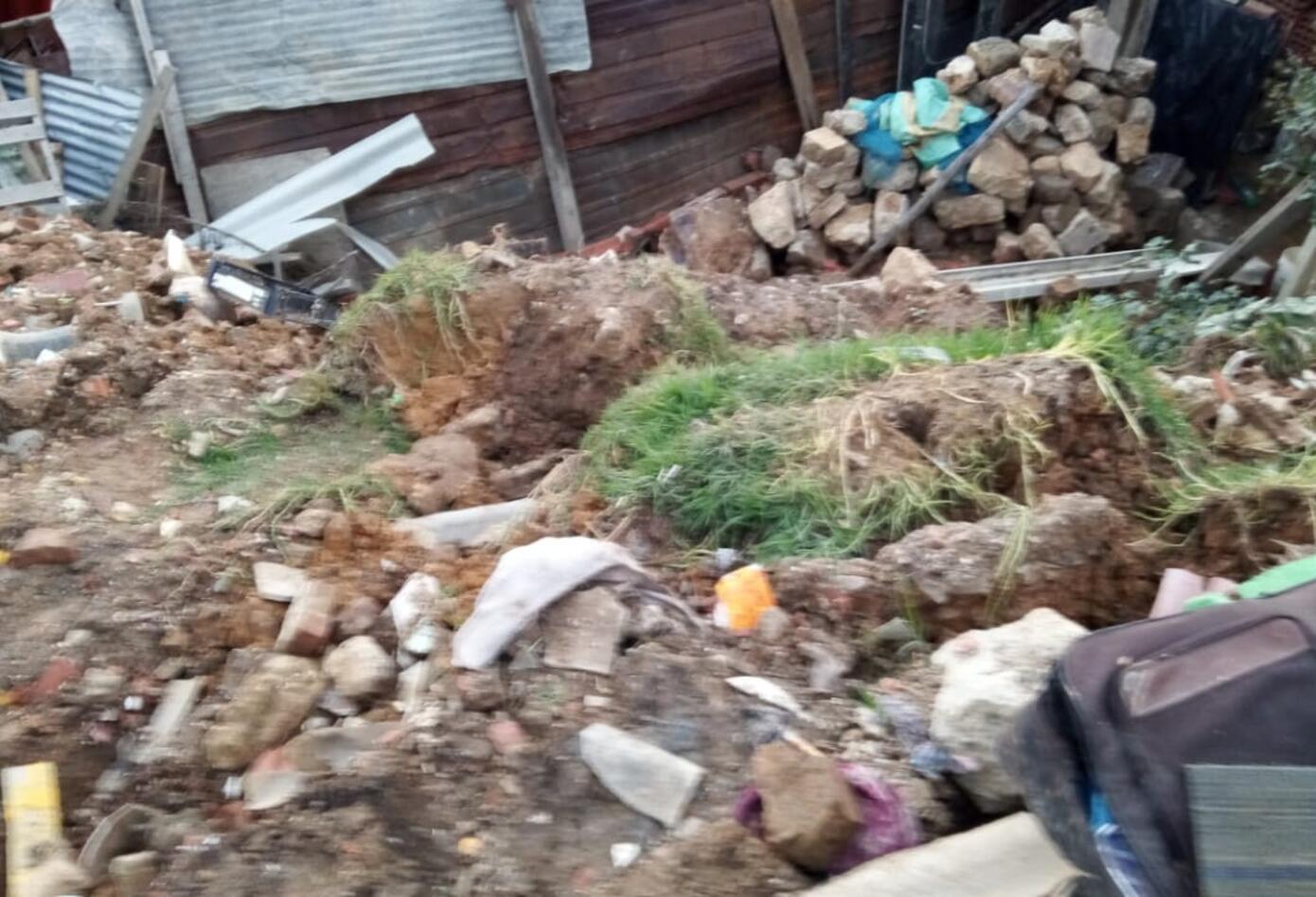 Deslizamientos en Ciudad Bolívar