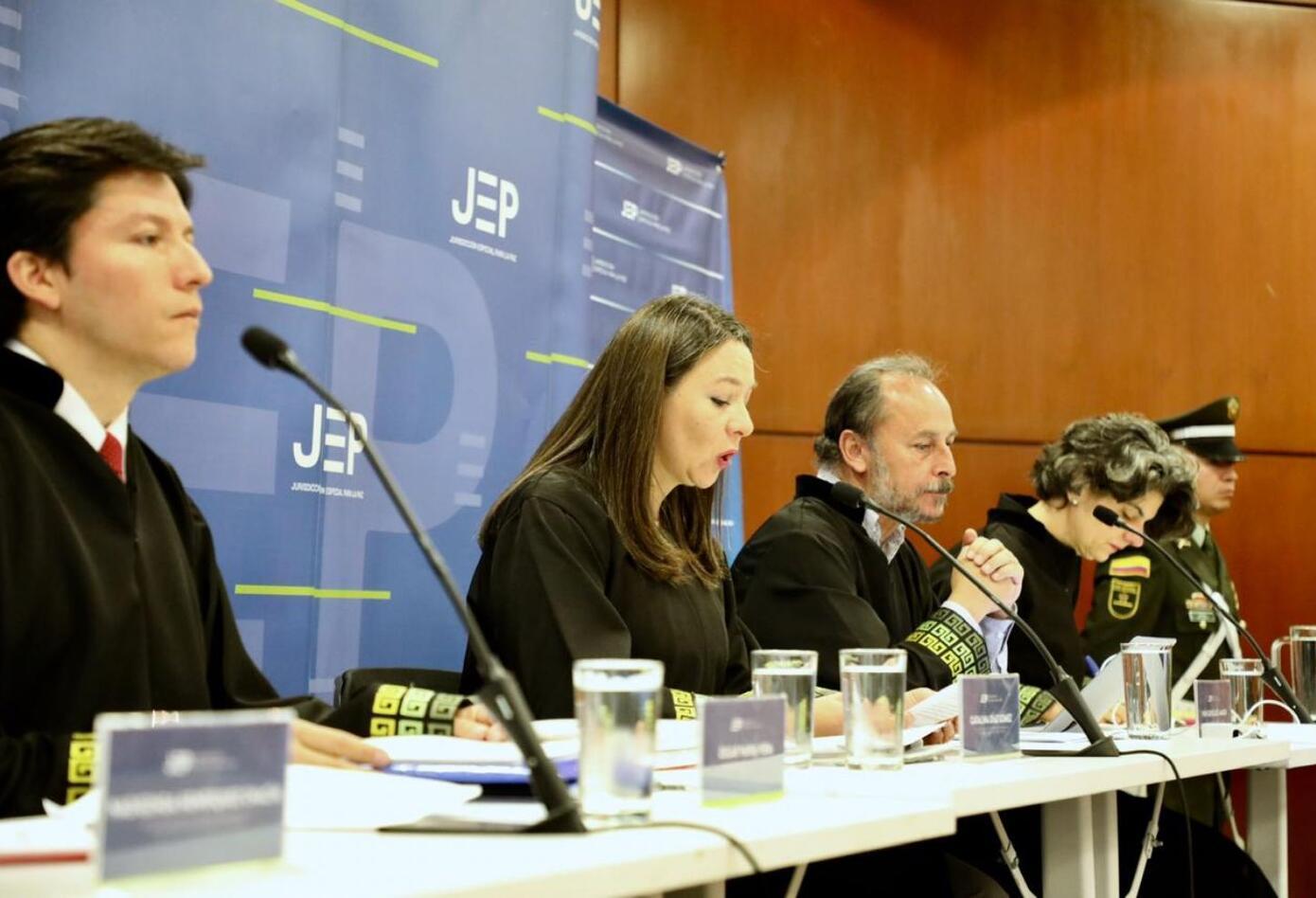 La JEP discutió la salida de 'El Paisa' de esa jurisdicción.