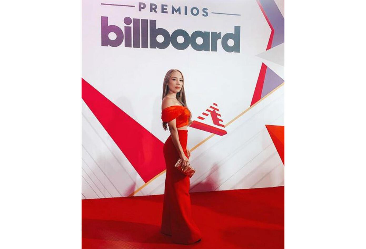Luisa Fernanda W en los Premios Latin Billboards 2019