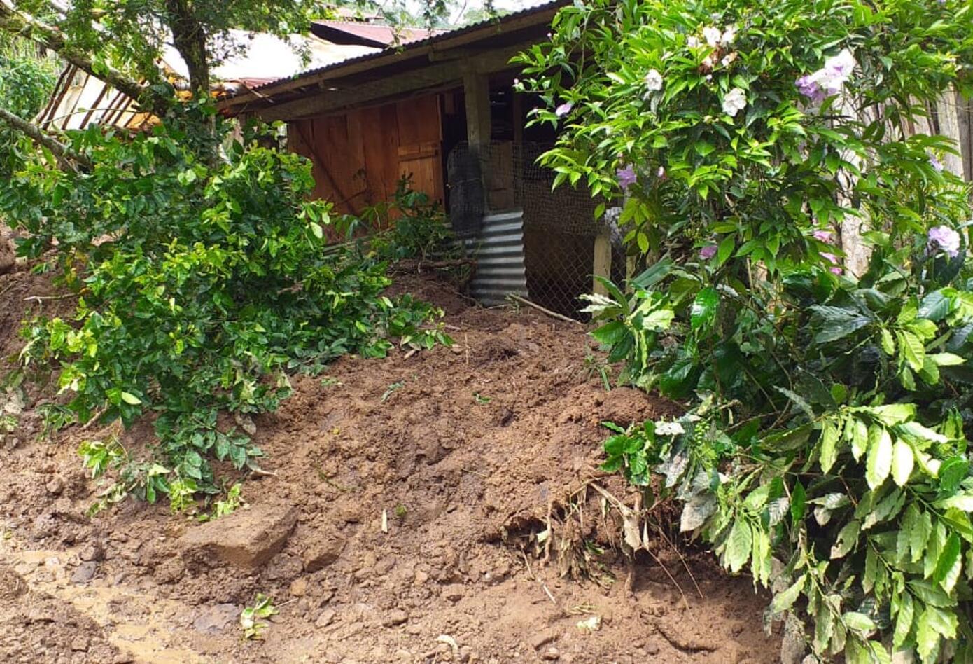 Emergencia en Otanche (Boyacá), por deslizamientos de tierra