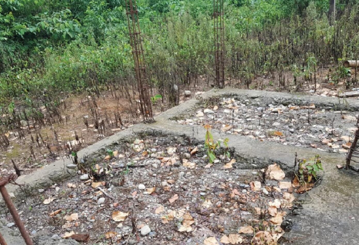 Las obras para los indígenas abandonadas