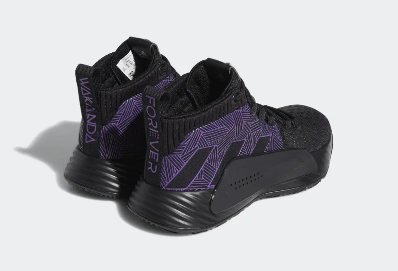 Zapatillas de la Pantera Negra de Adidas