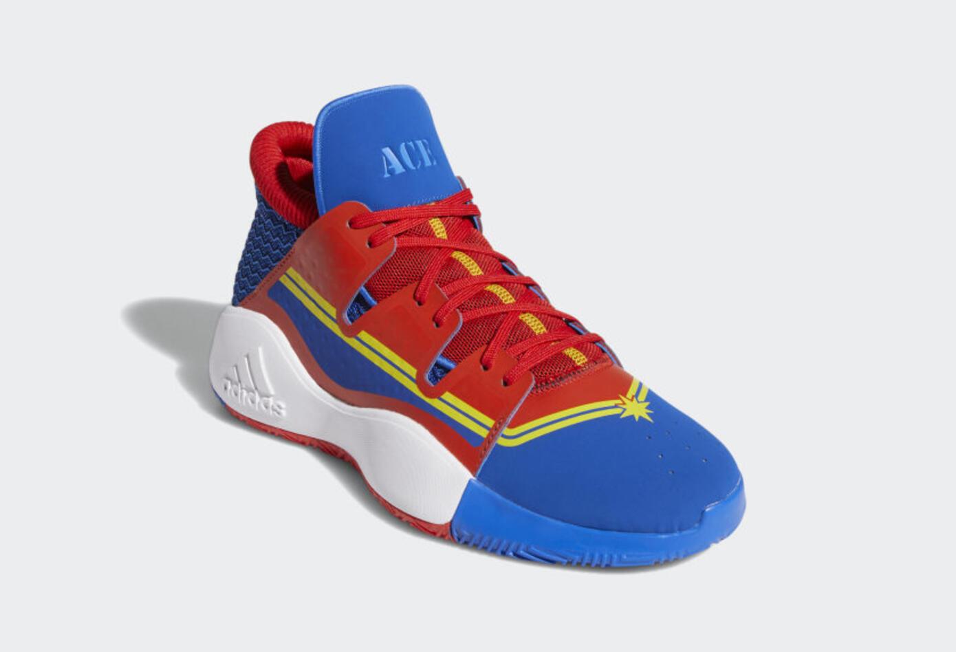 Zapatillas de la Capitana Marvel de Adidas