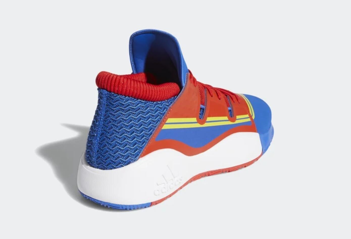 Tenis inspirados en la Capitana Marvel de Adidas