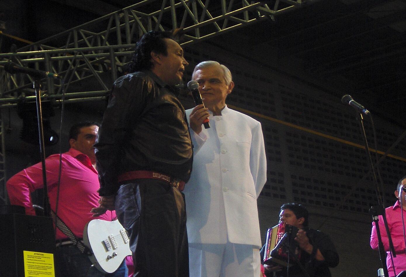 Jorge Barón y Diomedes Díaz
