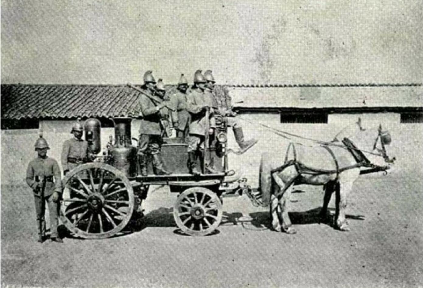 124 años el cuerpo de Bomberos de Bogotá