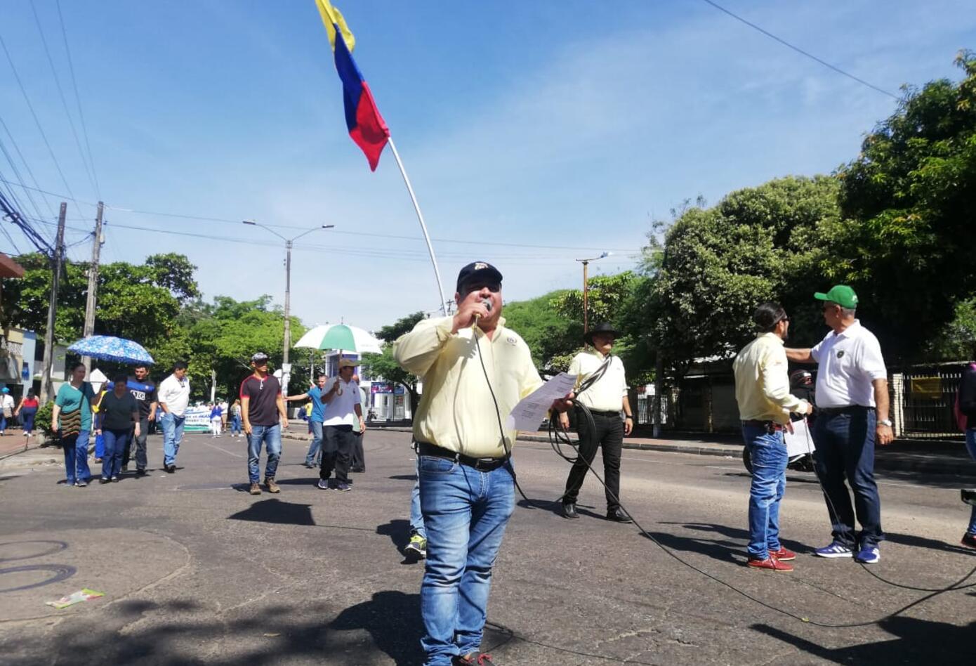 Marchas primero de mayo en Neiva