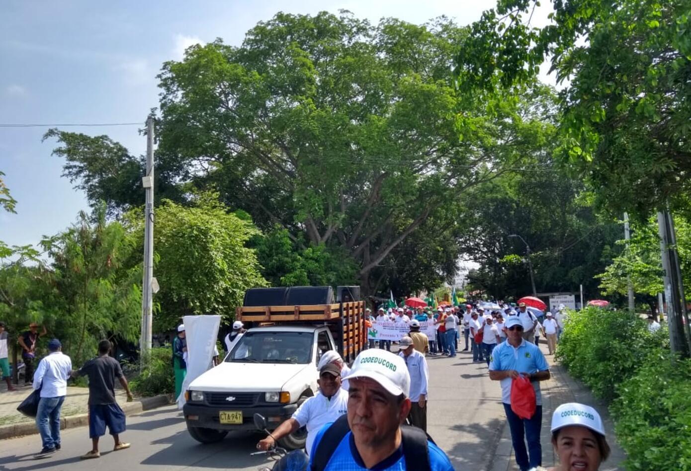 Marchas Primero de mayo en Montería