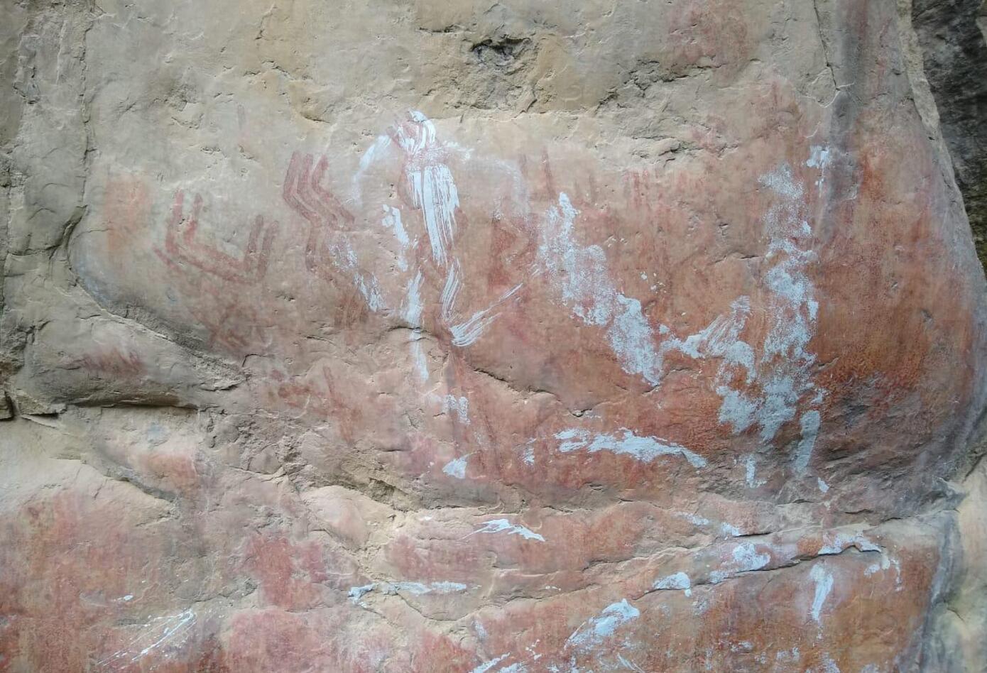 Piedras milenarias vandalizadas en Soacha