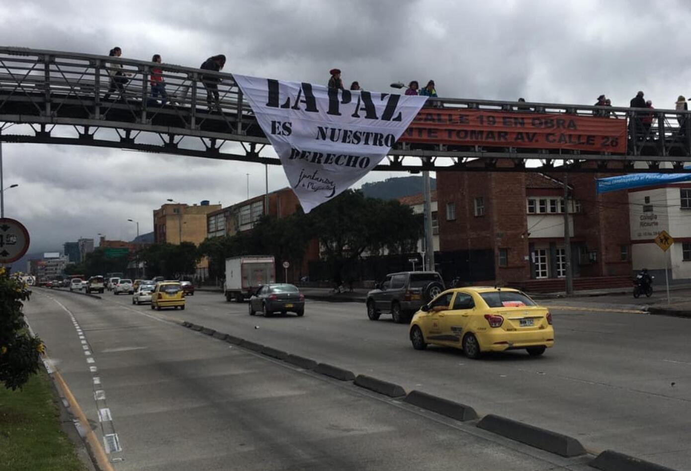 Ciudadanos piden paz