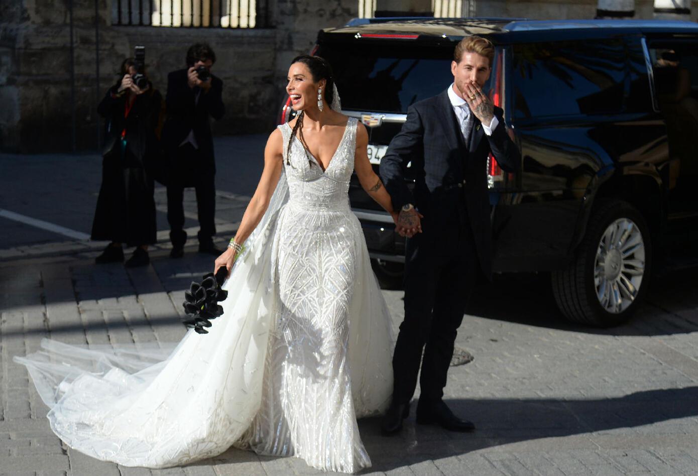Matrimonio de Sergio Ramos y Pilar Rubio