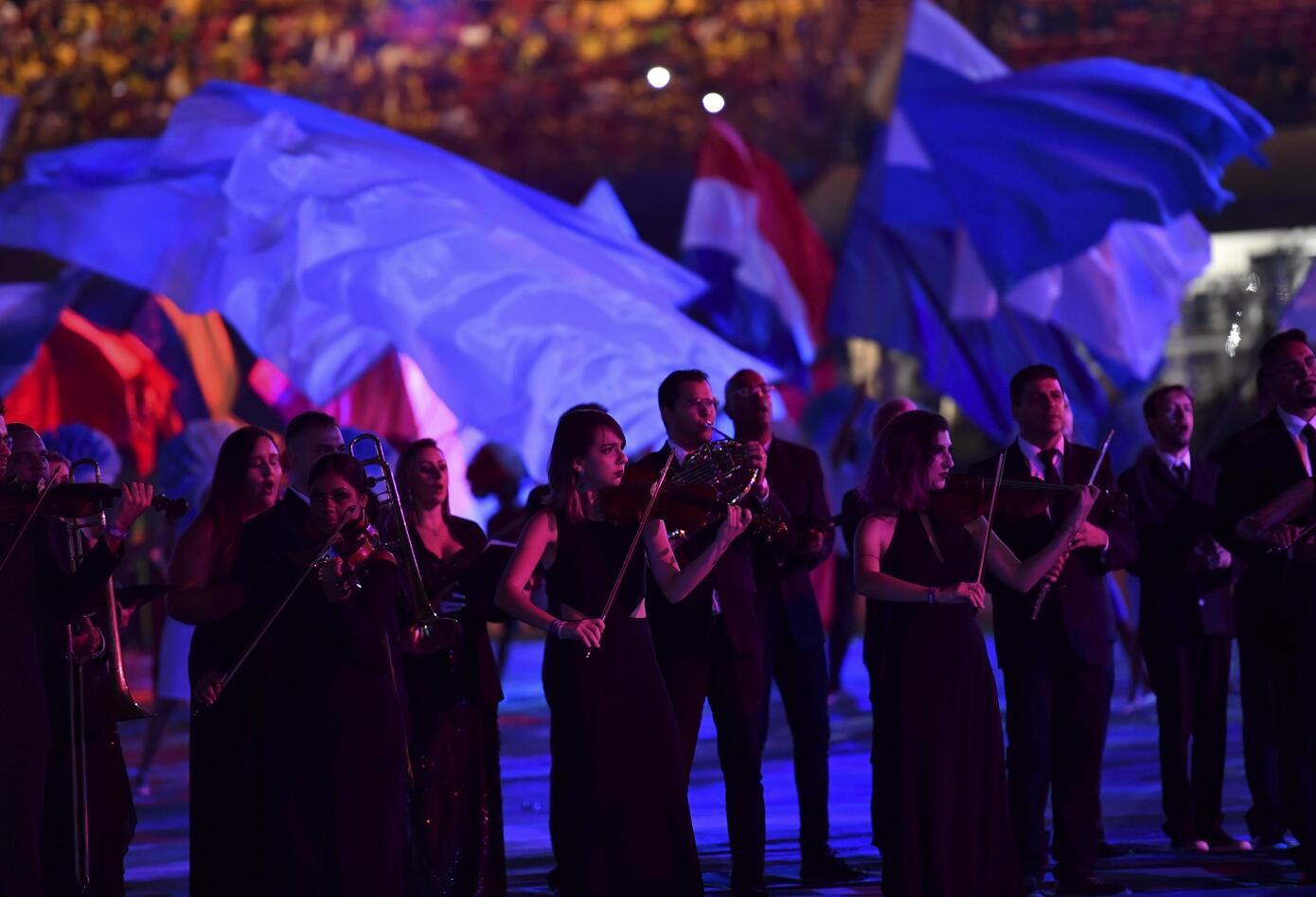 Inauguración de Copa Amércica Brasil 2019