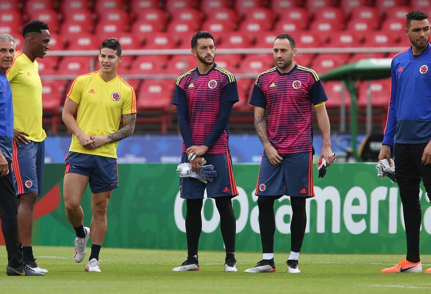 David Ospina y Camilo Vargas