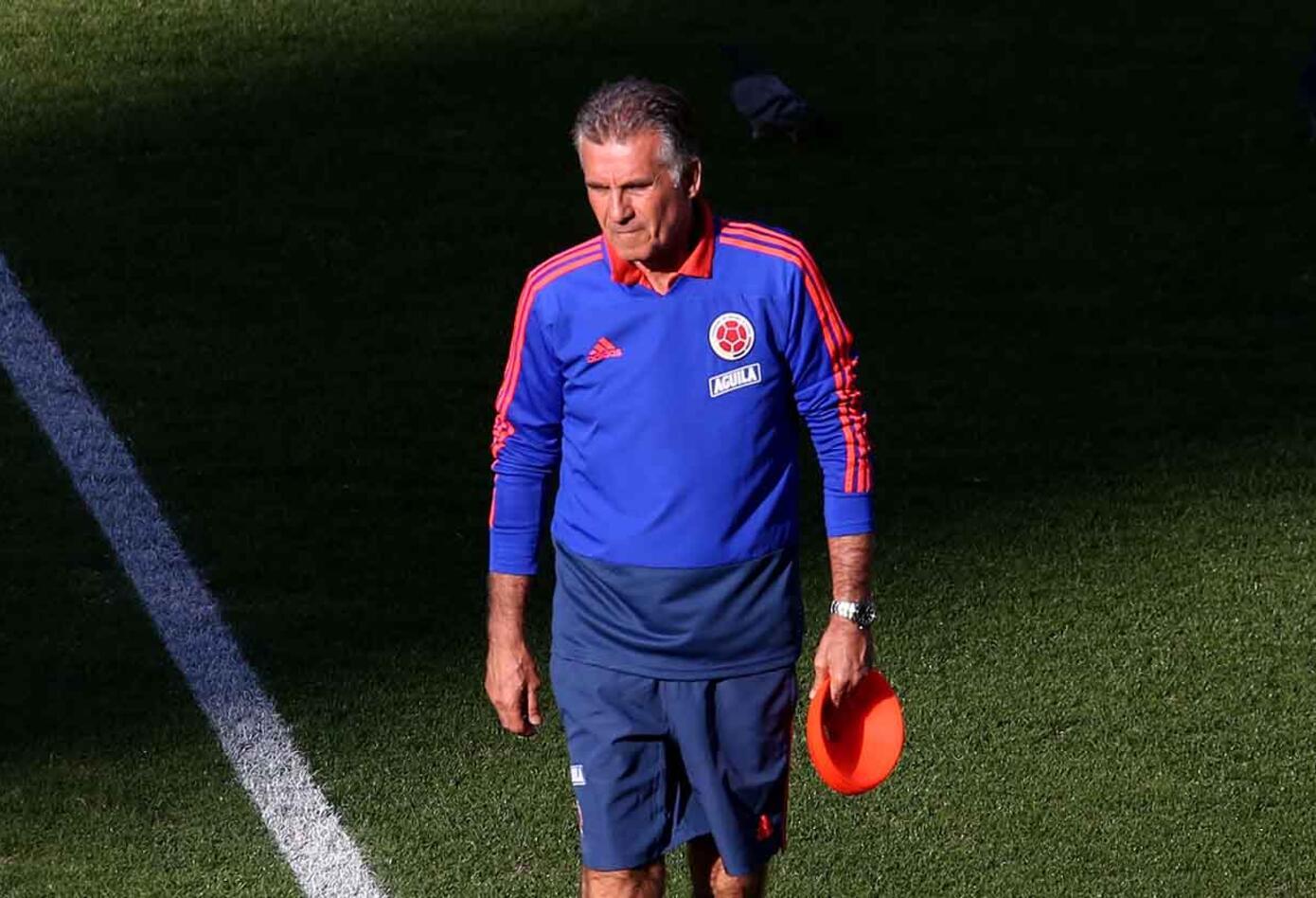 Los dirigidos por el técnico portugués Carlos Queiroz practicaron ya con la presencia del portero titular David Ospina