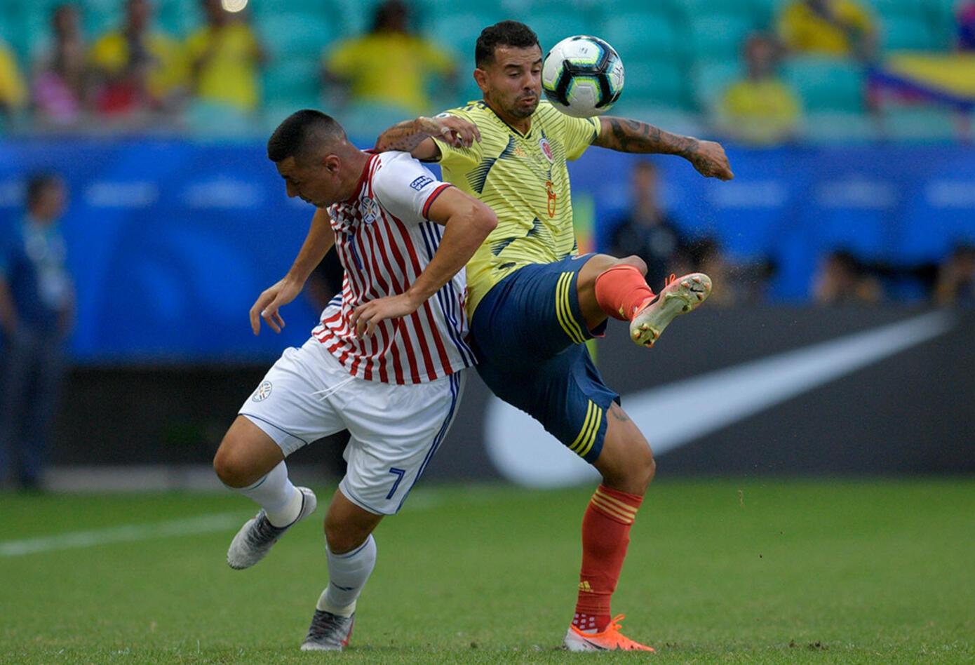 Selección Colombia se enfrenta a Paraguay