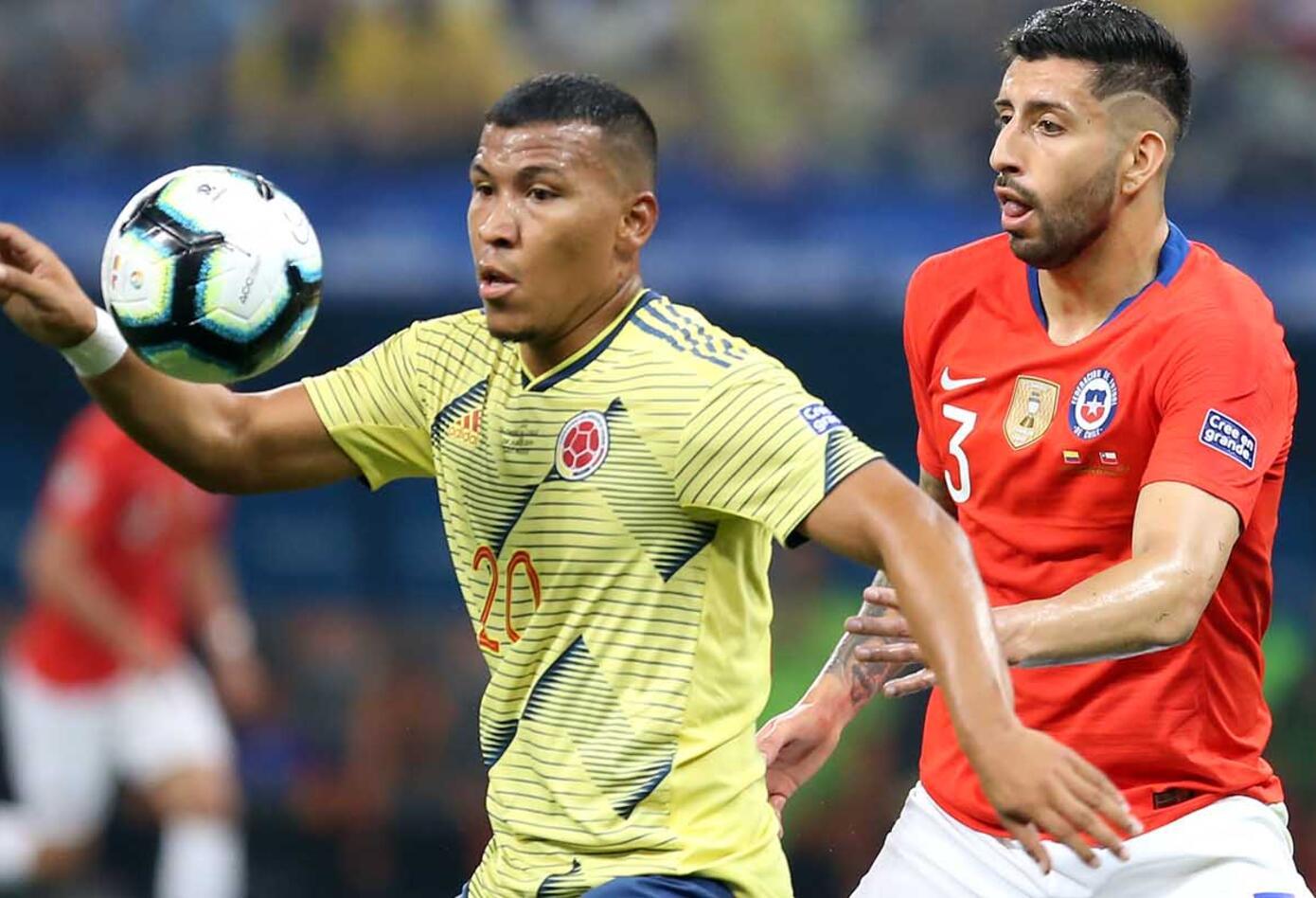 Colombia Vs Chile Paquete 2