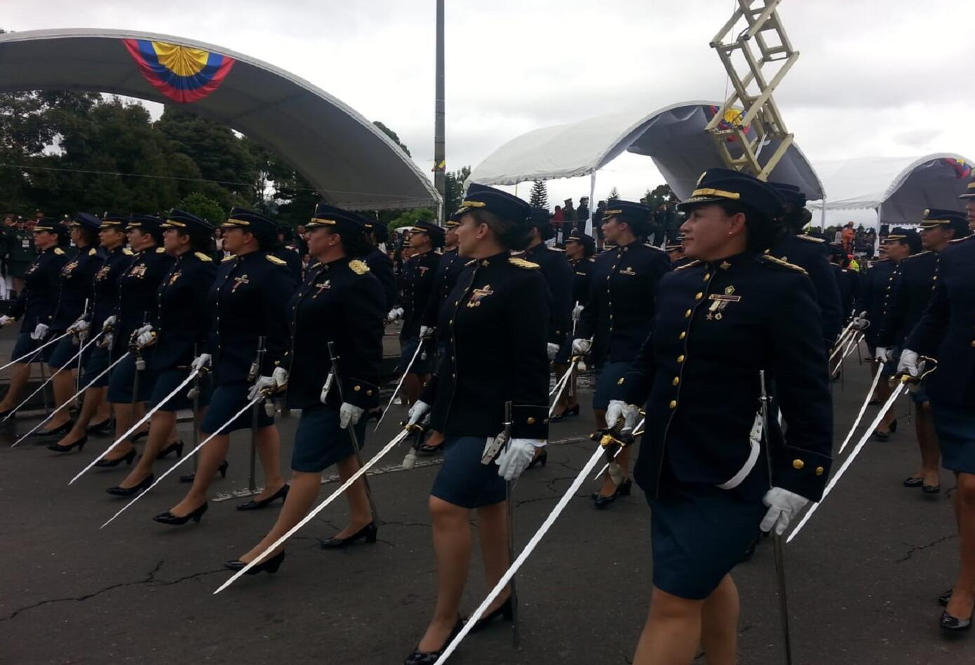 Desfile del 20 de julio en Bogotá