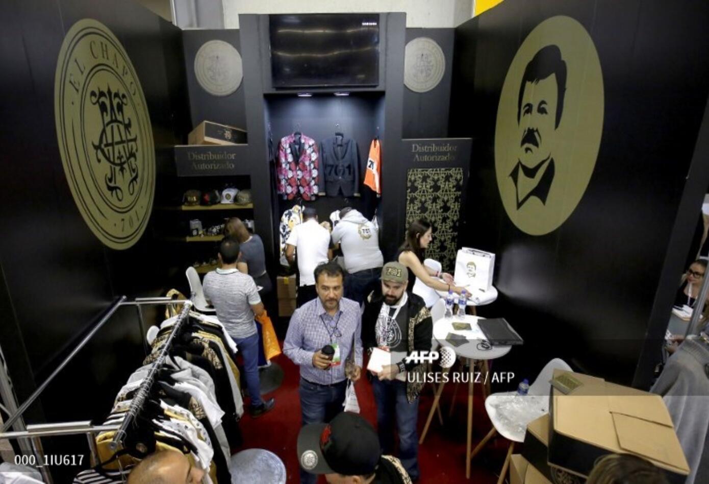 Prendas de ropa marca Chapo Guzmán