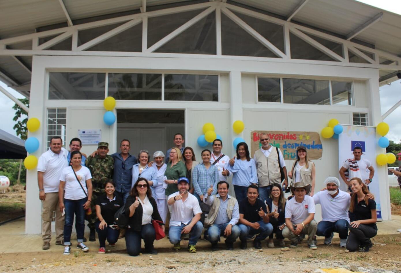 Planta despulpadora de fruta en ETCR de Caquetá