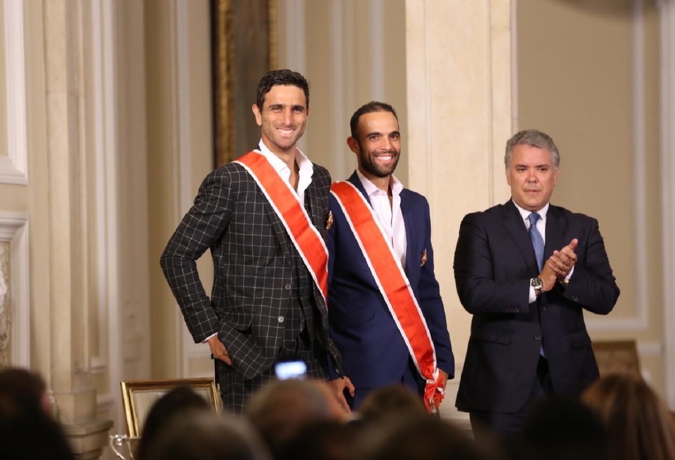 Juan Sebastián Cabal y Robert Farah