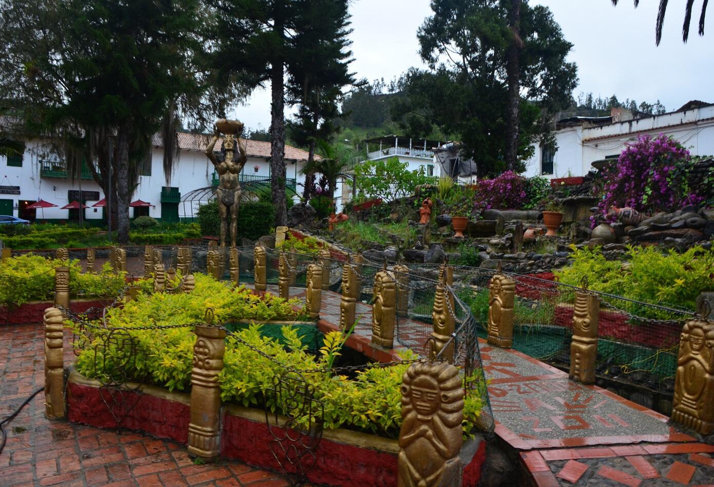 Plaza Principal municipio de Jenesano