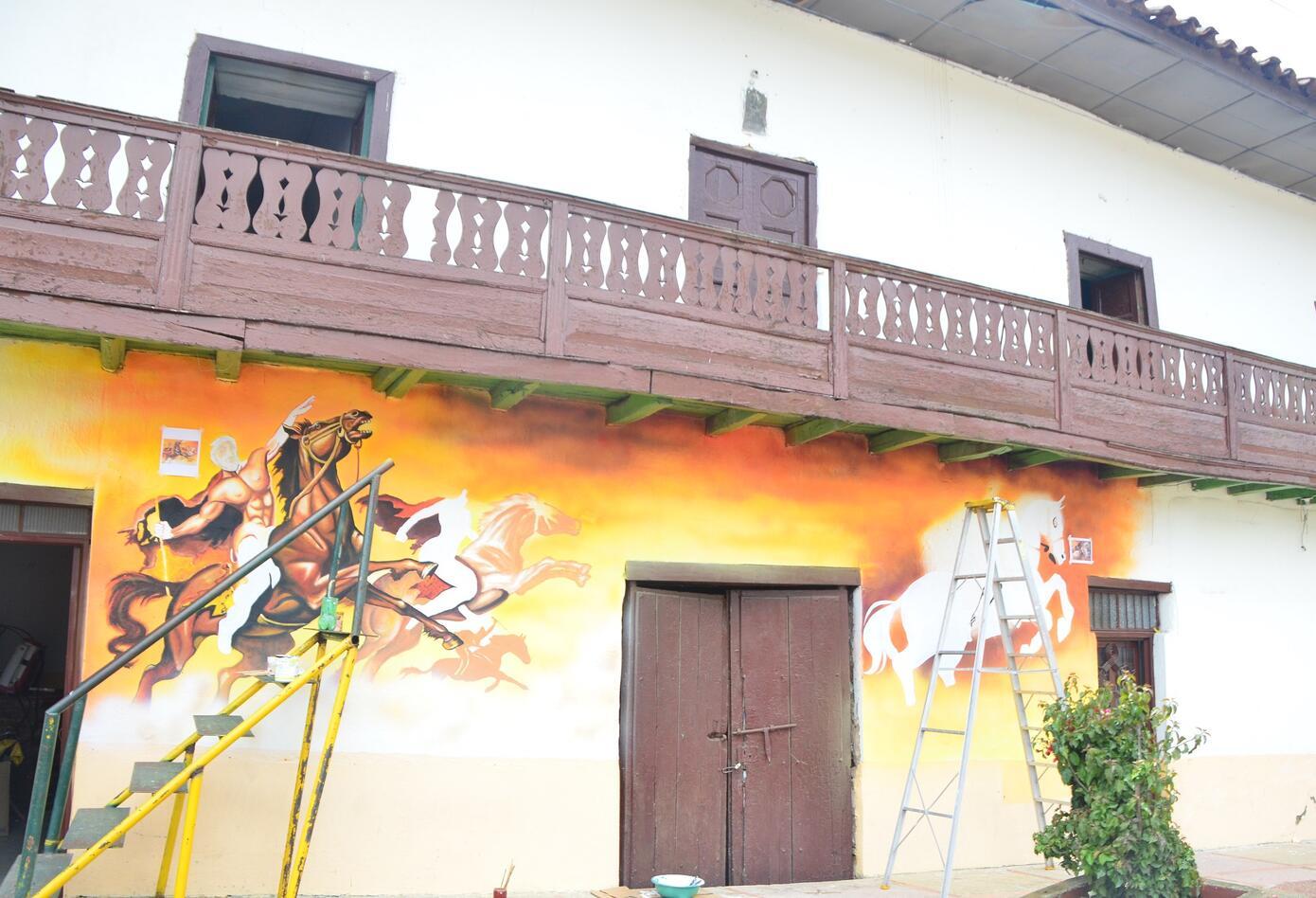 Murales Ruta Libertadora