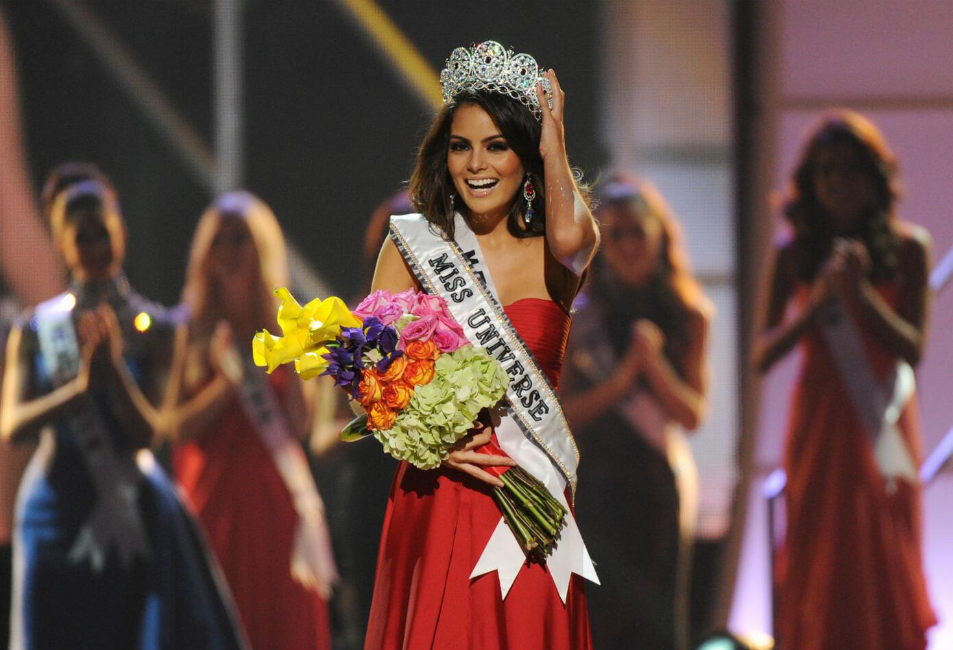 Ximena Navarrete, Miss Universo 2010.