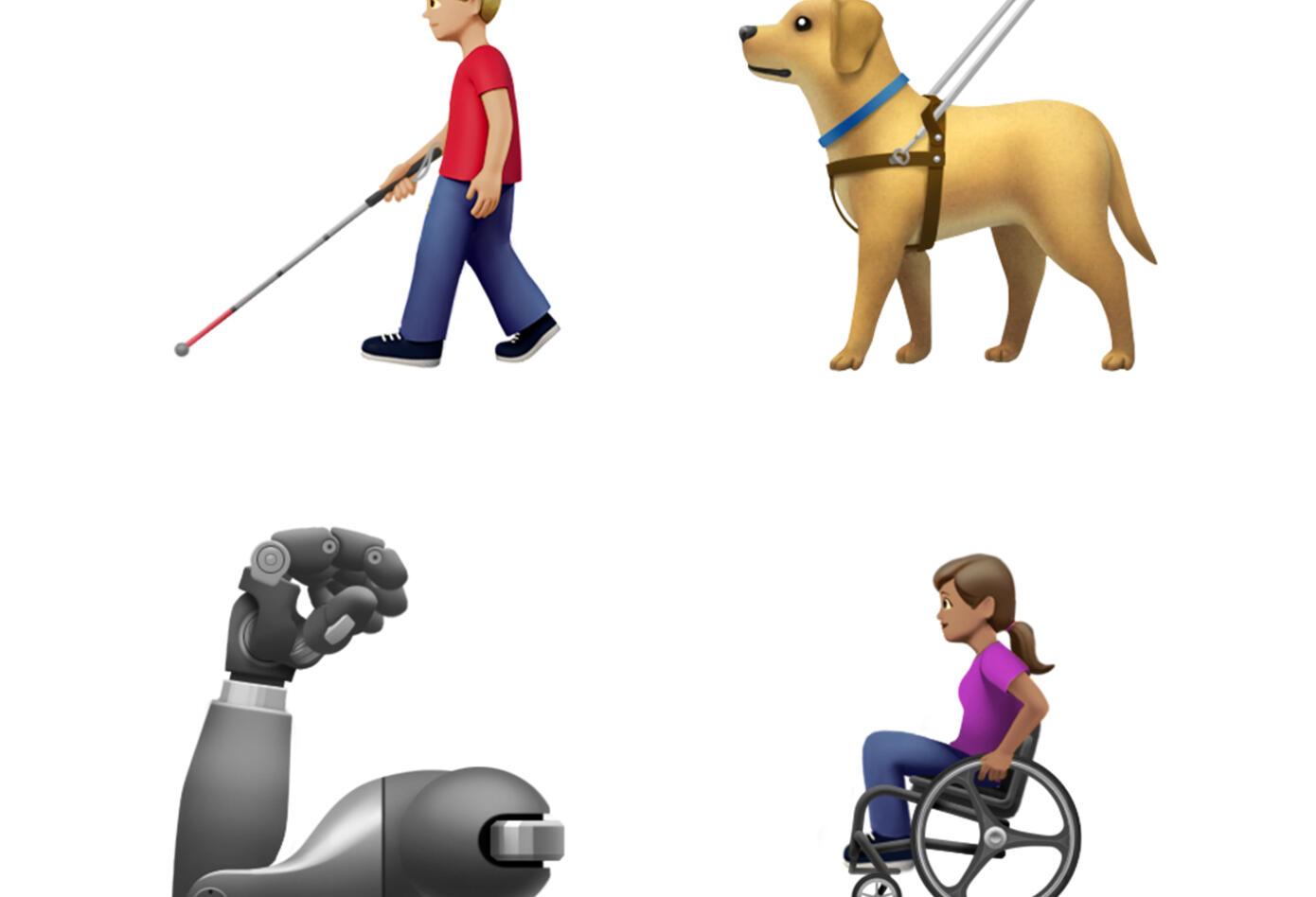 Los nuevos Emoji de Apple