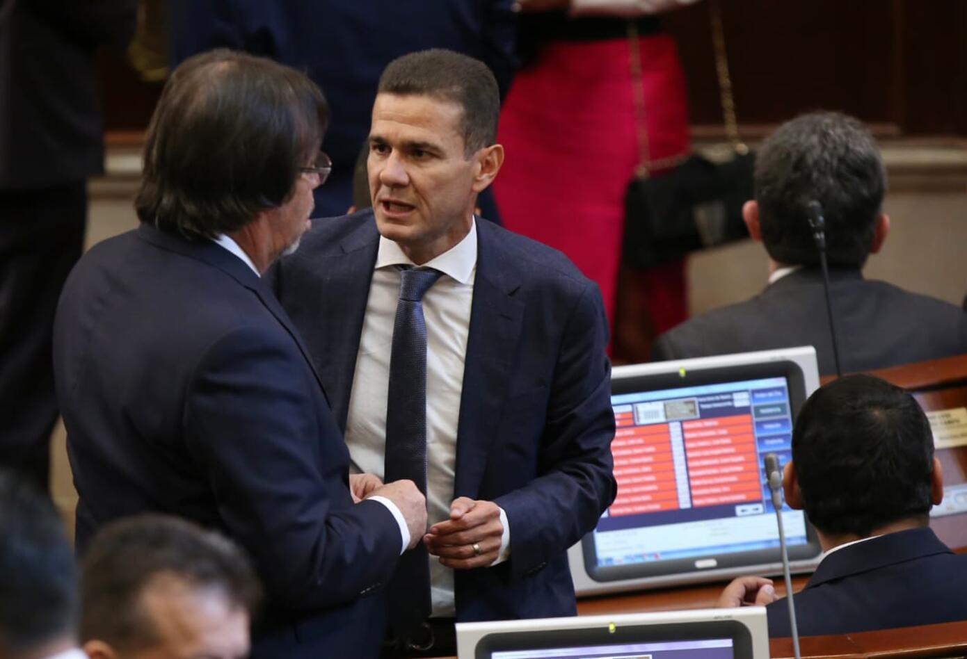 Carlos Cuenta, nuevo presidente de la Cámara.