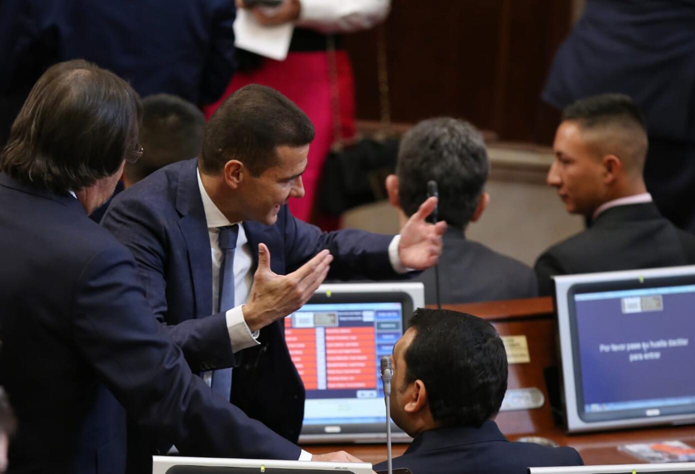 Carlos Cuenta, nuevo presidente de la Cámara, en las pasadas elecciones obtuvo un poco más de 2.600 votos para poder llegar a la corporación.