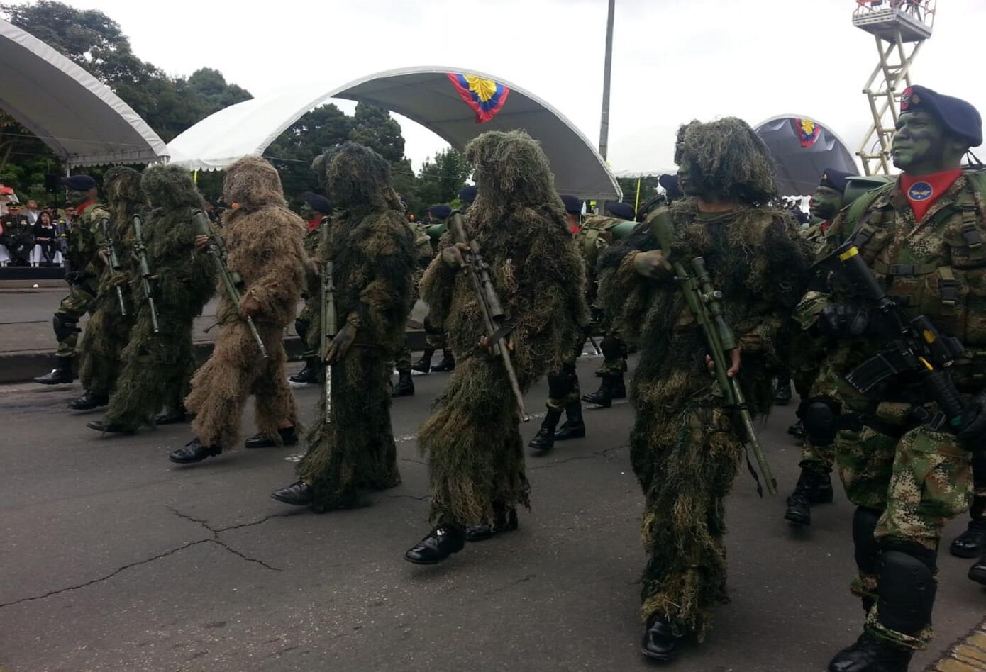 Desfile 20 de julio en Bogotá