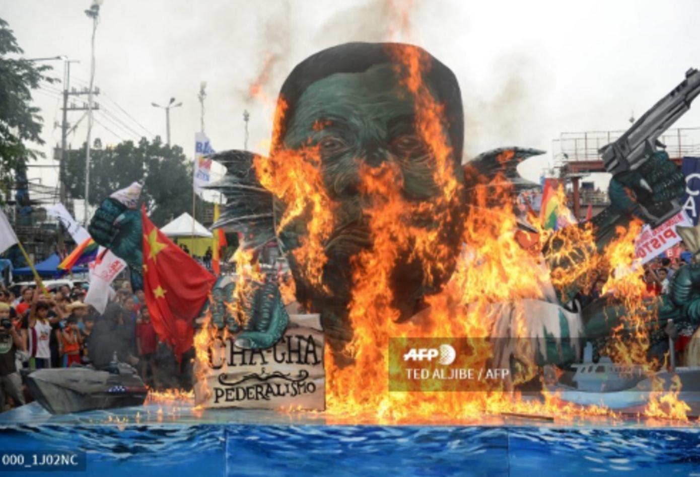 Marchas contra Rodrigo Duterte