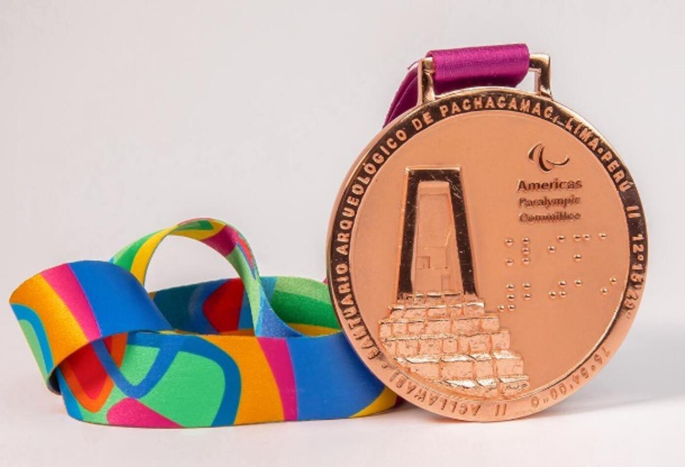 Medalla de Bronces - Juegos Parapanamericanos