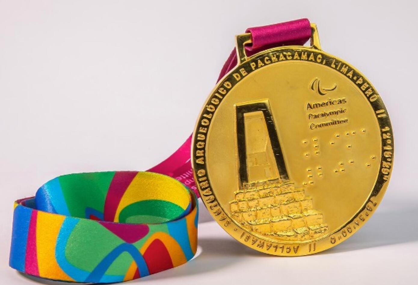 Medalla de Oro- Juegos Parapanamericanos