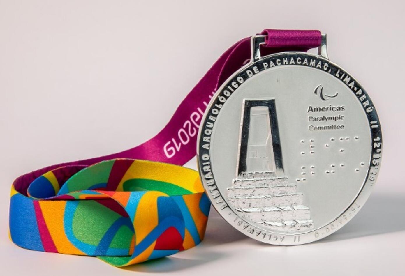 Medalla de Plata- Juegos Parapanamericanos