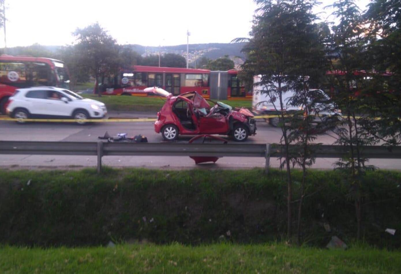 Accidente Autopista Norte