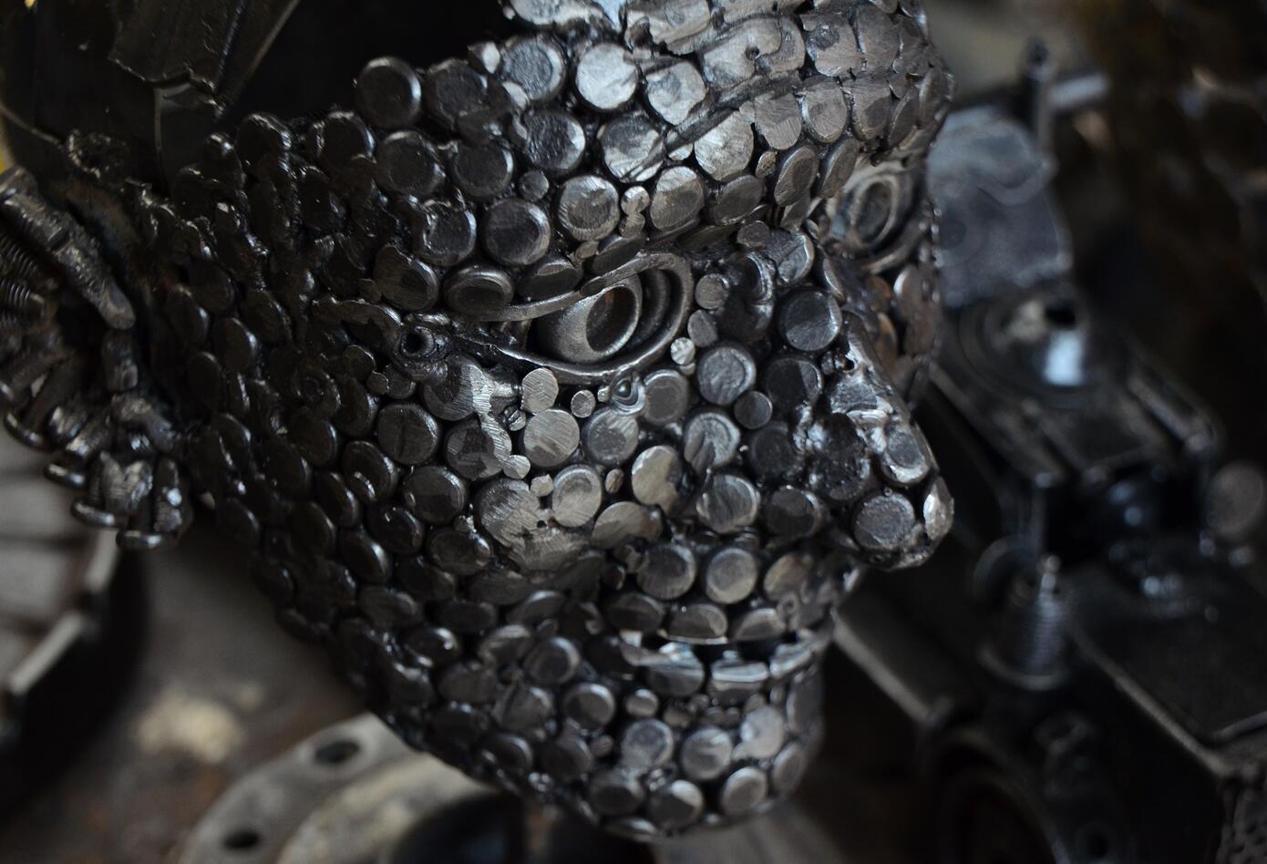 Forja de metales artesanos