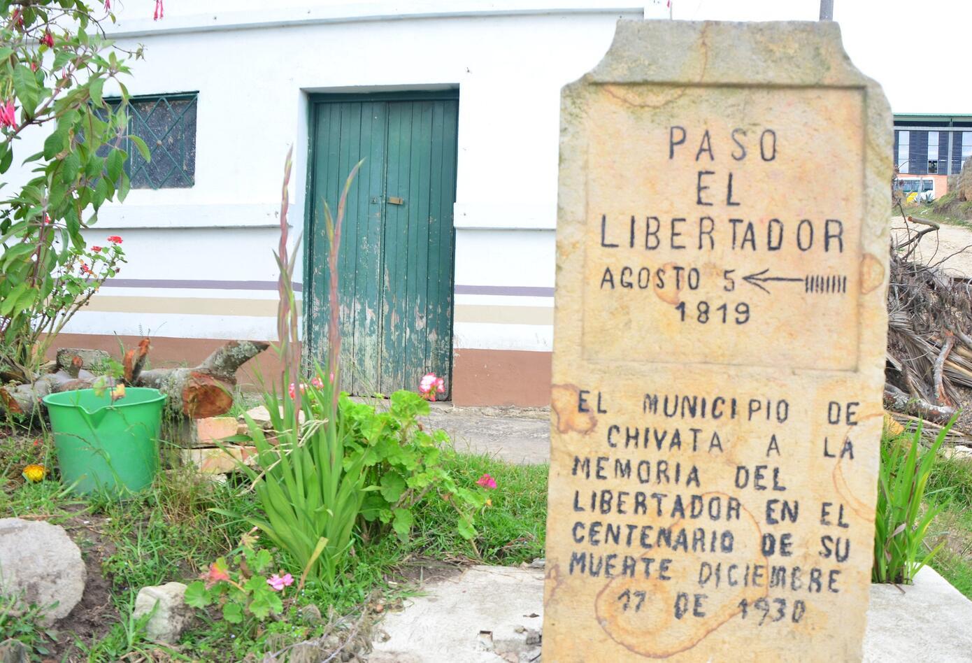 Foto Ruta Libertadora Chivatá