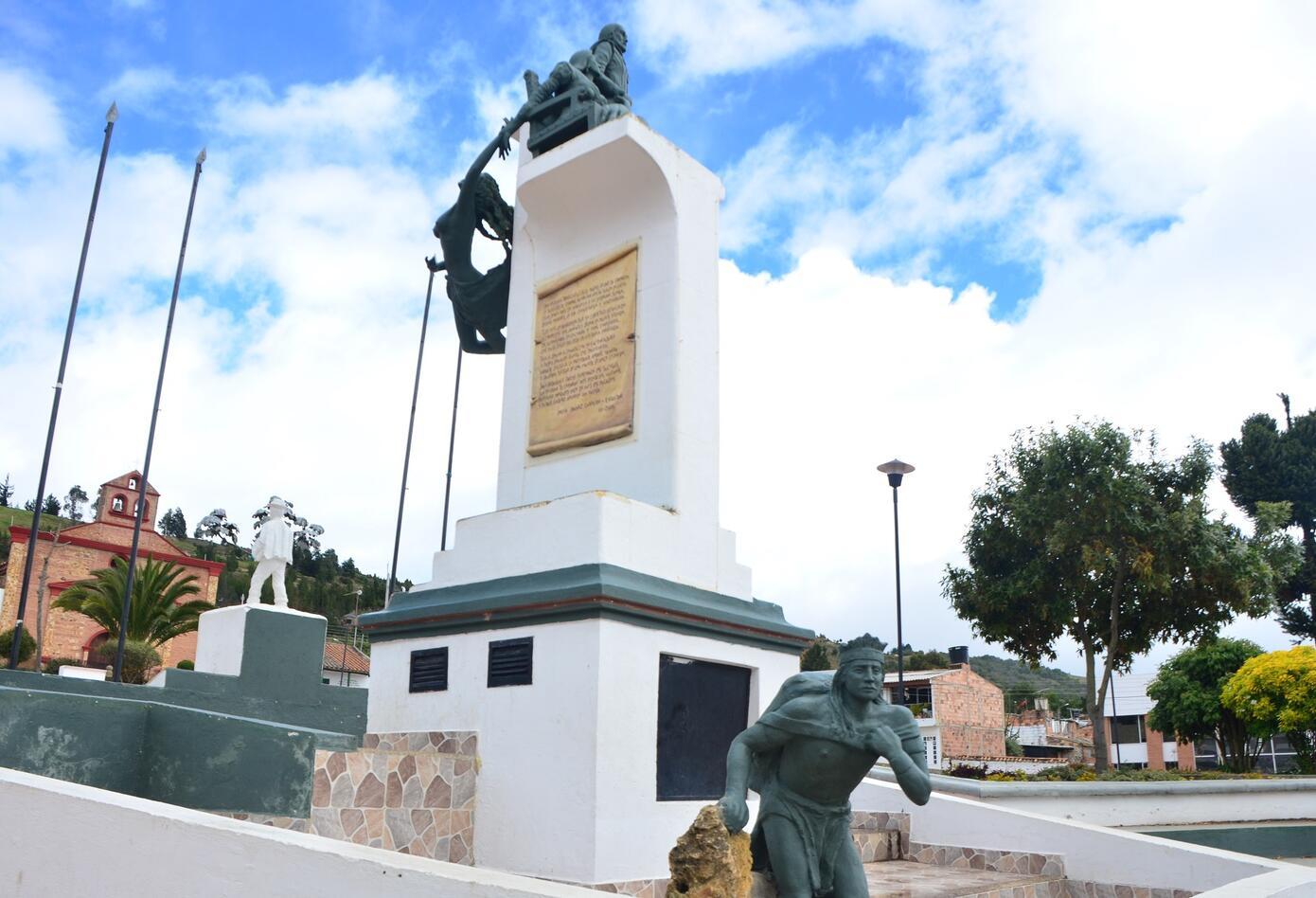 Plaza Principal Chivatá