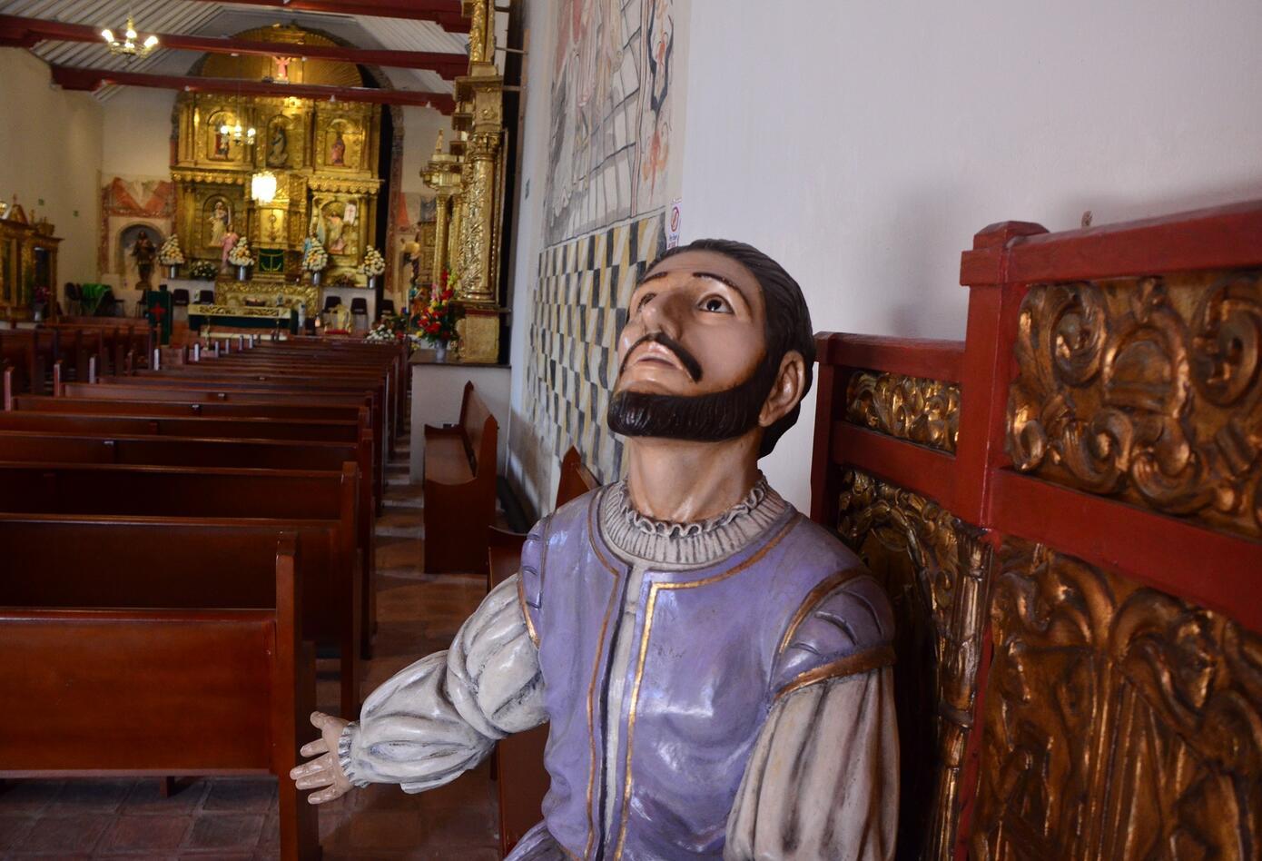Adornos de la Iglesia de Chivatá