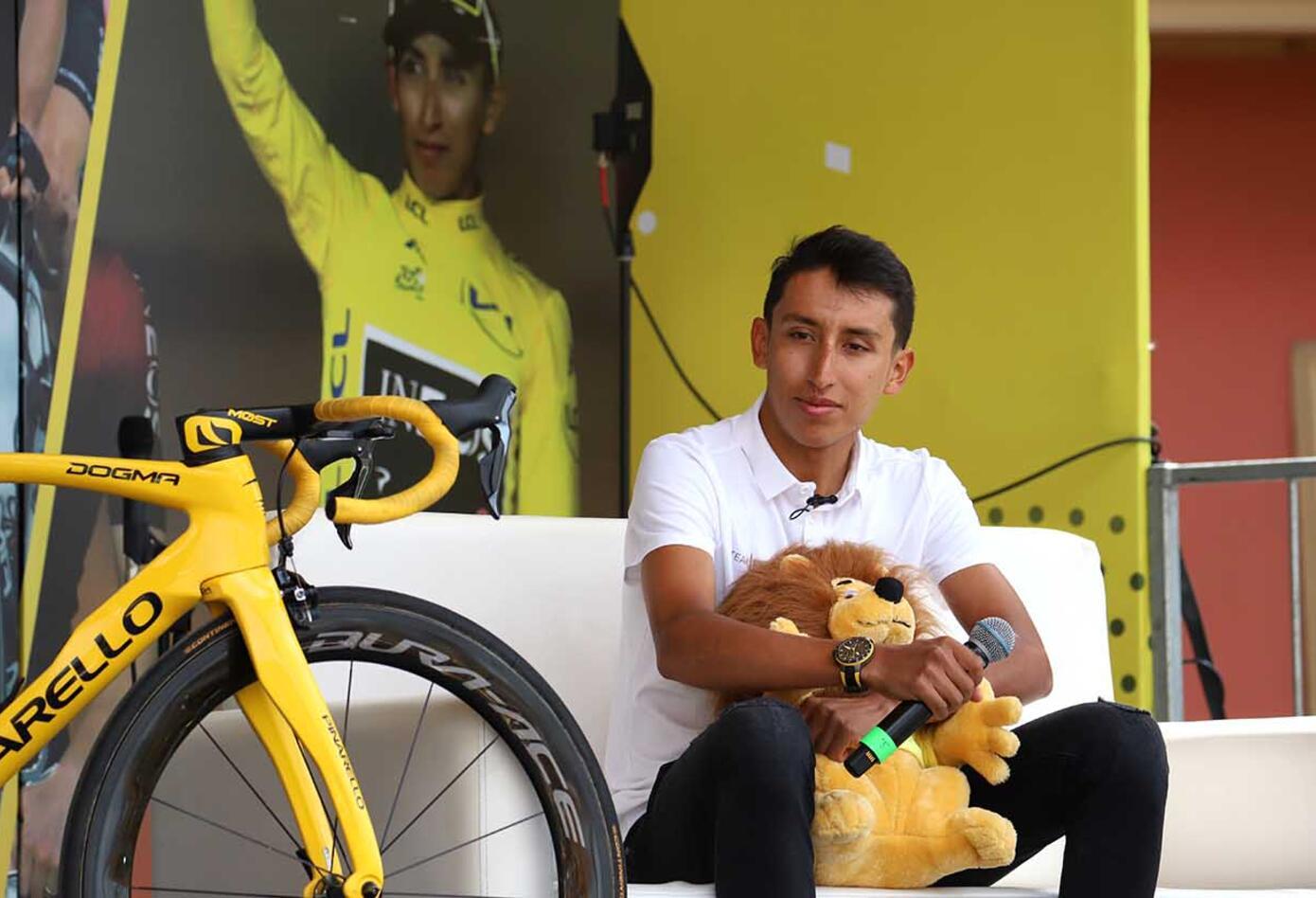 Tour de Francia - Egan Bernal, Recibimiento
