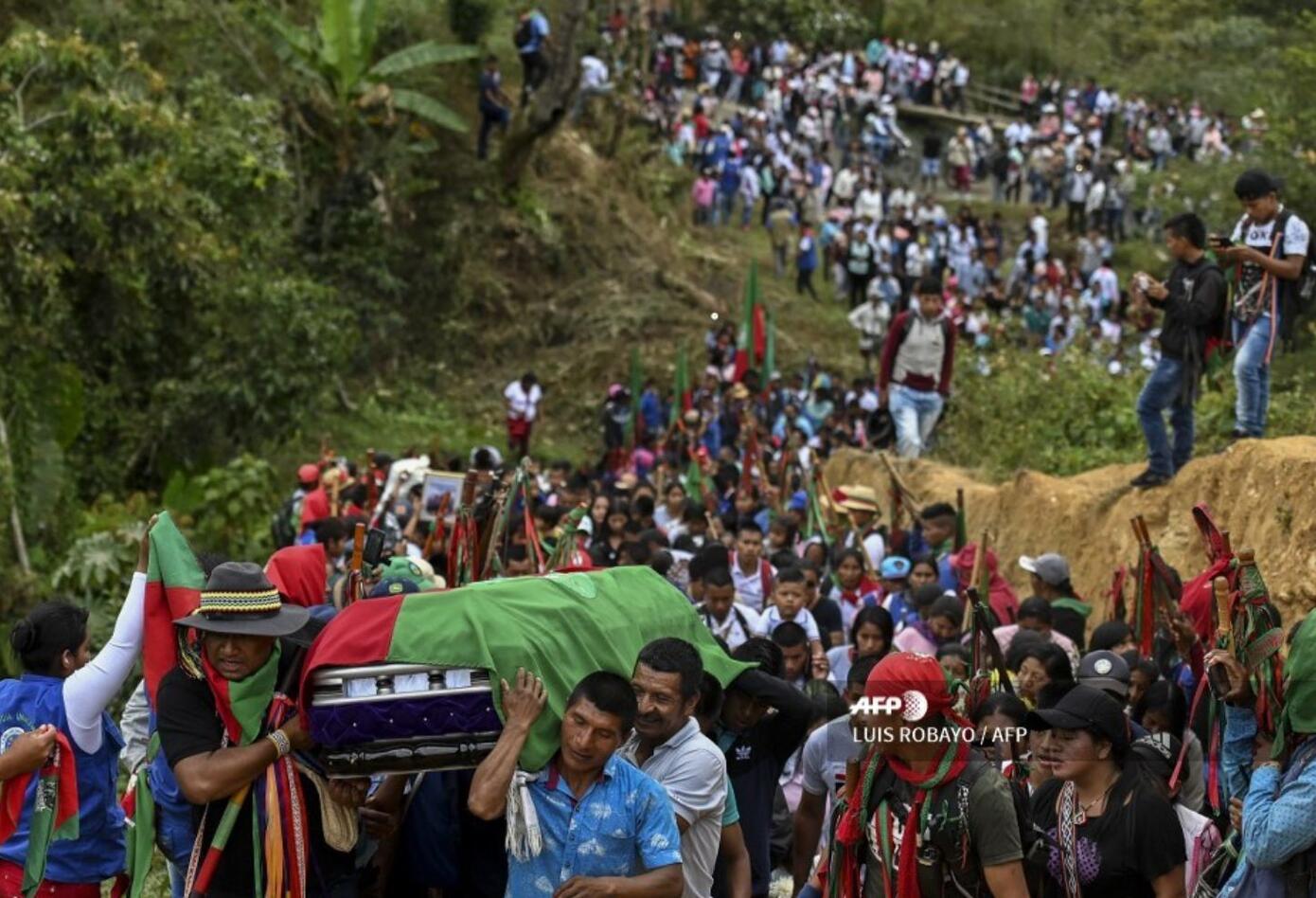 El departamento del Cauca se lo disputan los grupos armados por su posición estratégica para la salida de cocaína a Estados Unidos y la siembra de narcocultivos.