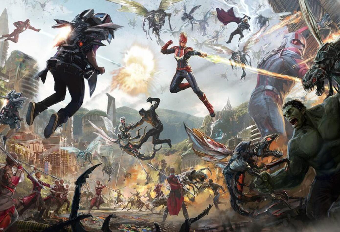 Campus Avengers (Arte)