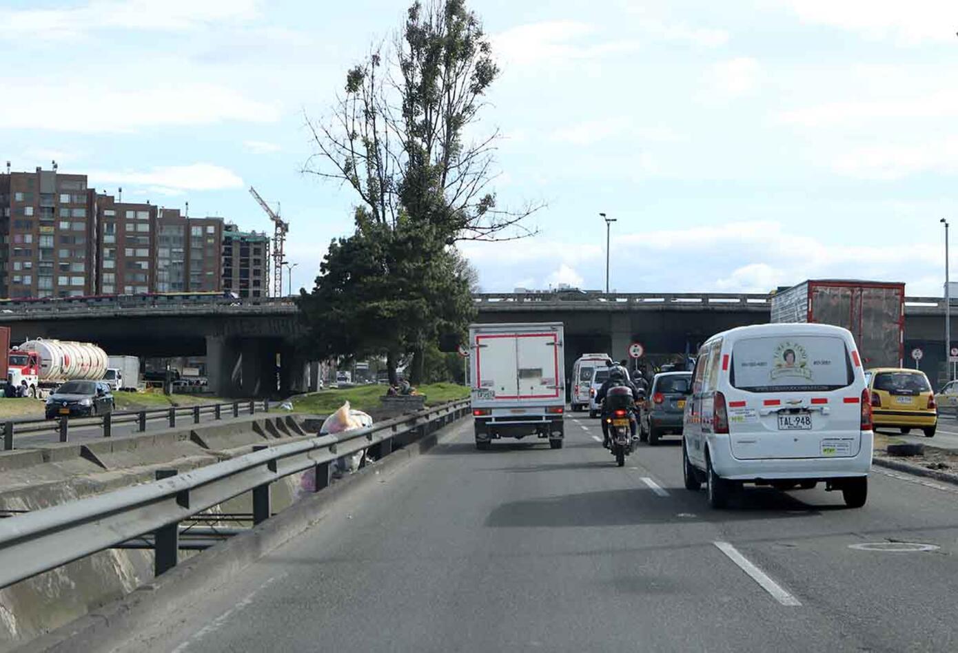 Avenida Boyacá con calle 26
