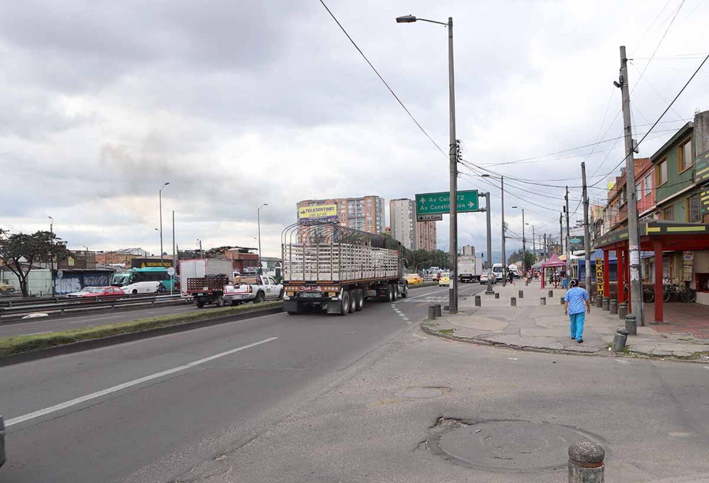 Avenida Boyacá con calle 66